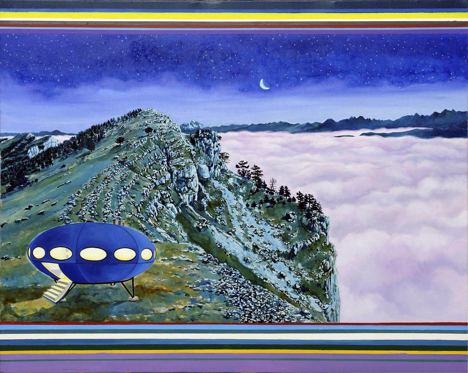 Futuro Painting - Alain Fraboni