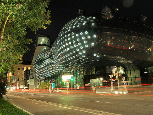 Kunsthaus Graz, Austria - Night 2