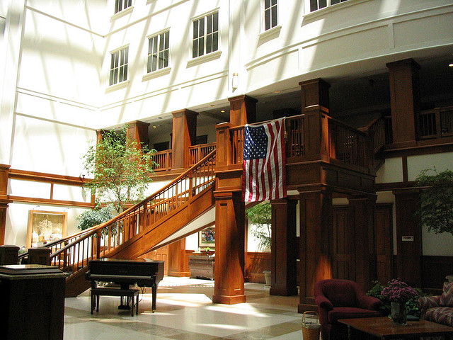 The basket House Atrium 2