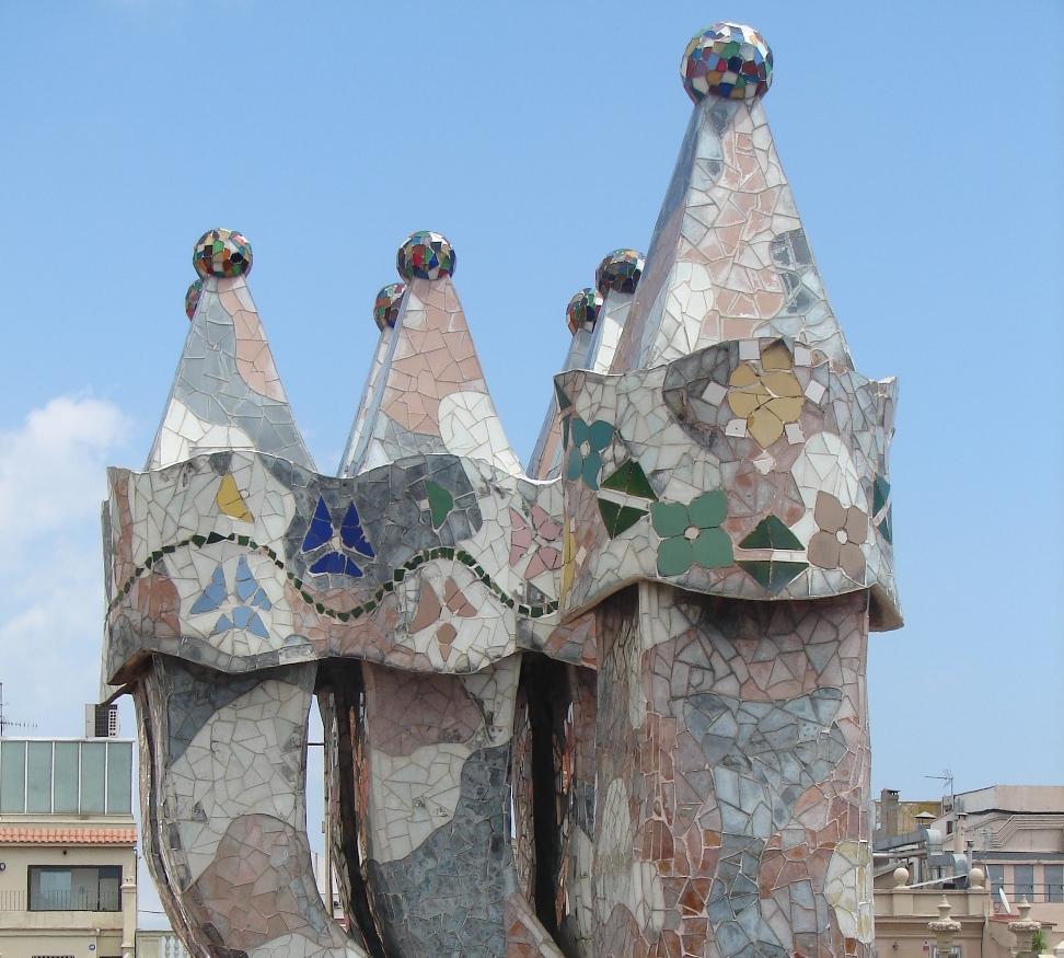 Casa Batlló - Chimneys 3