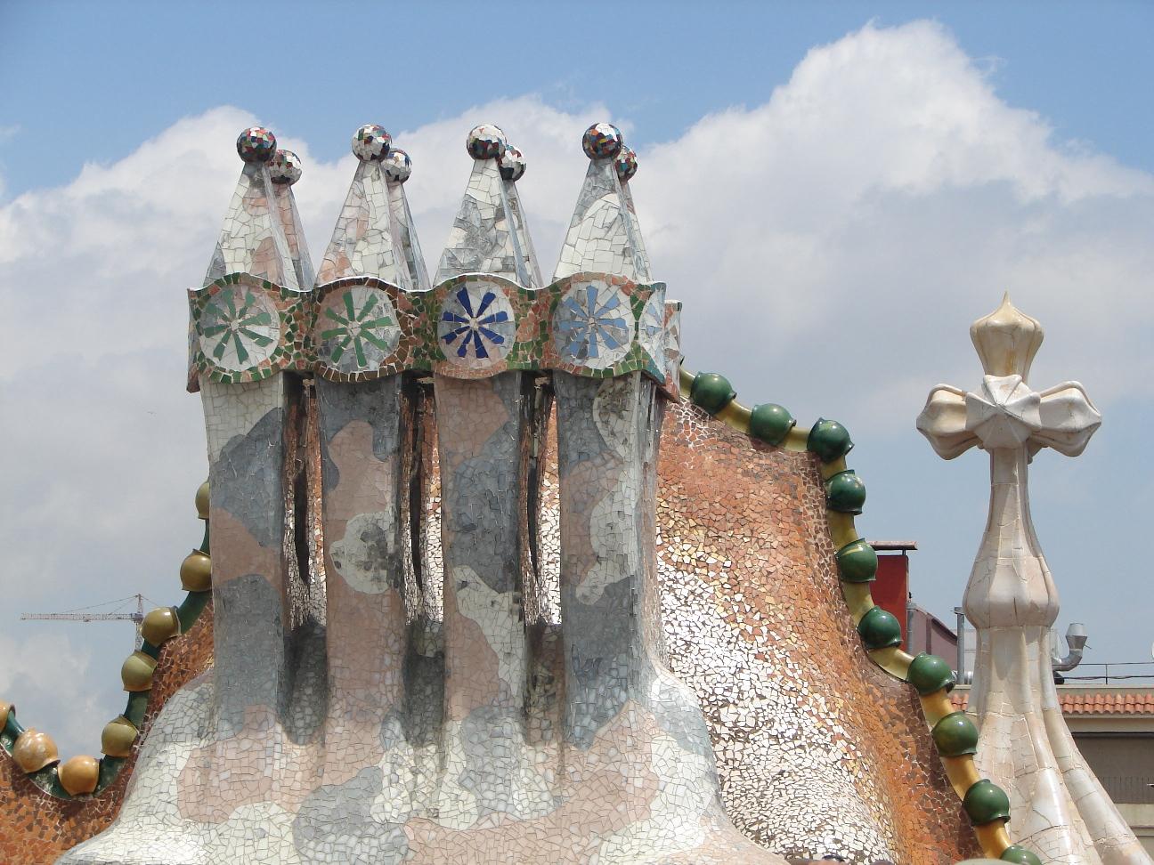 Casa Batlló - Chimneys 2