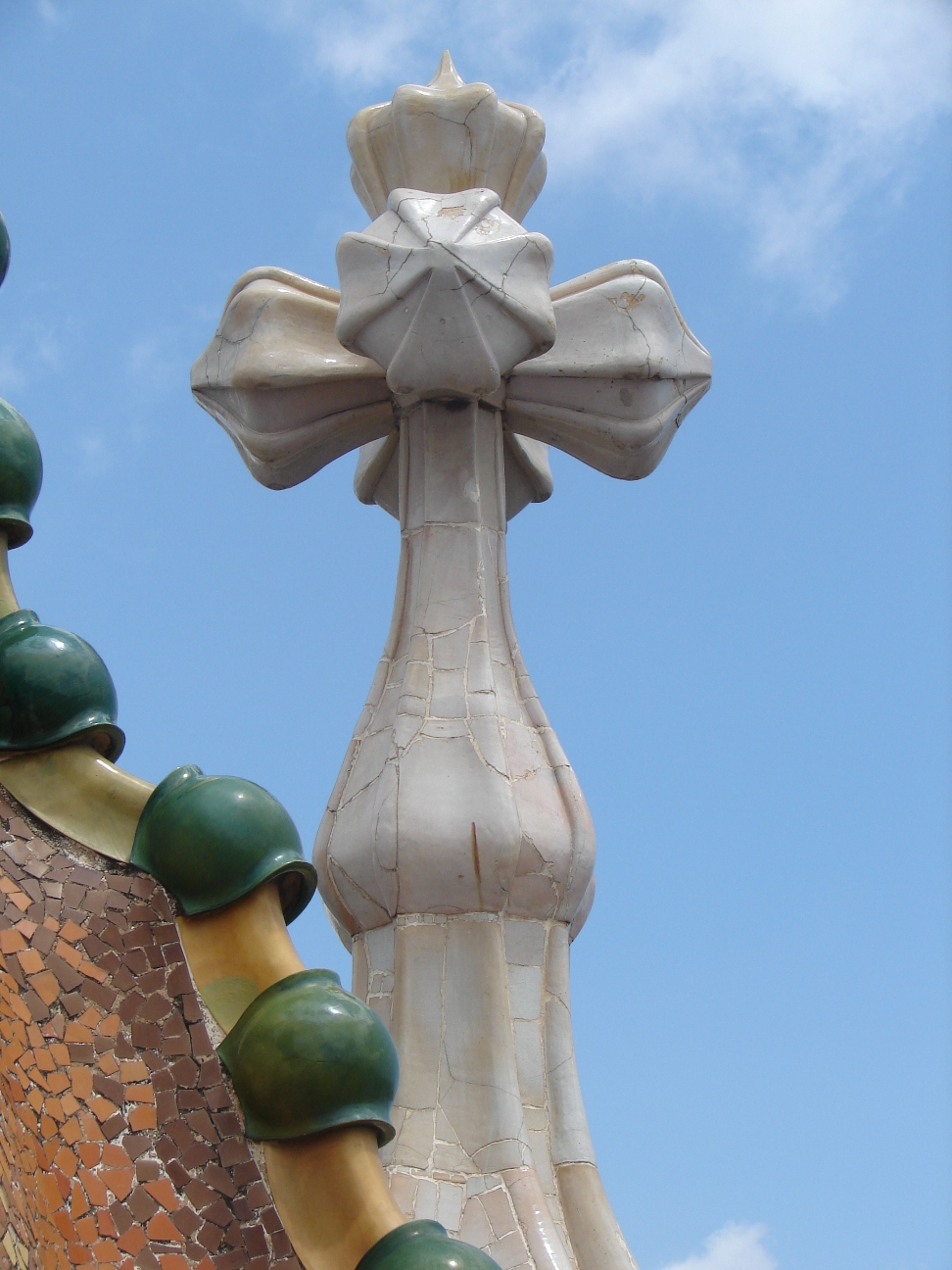 Casa Batlló - Roof Top Cross