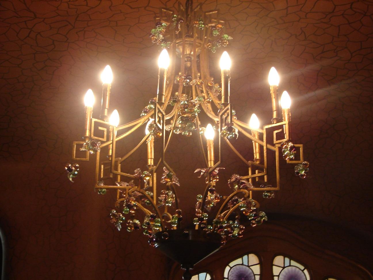 Casa Batlló - Light Fixture 1
