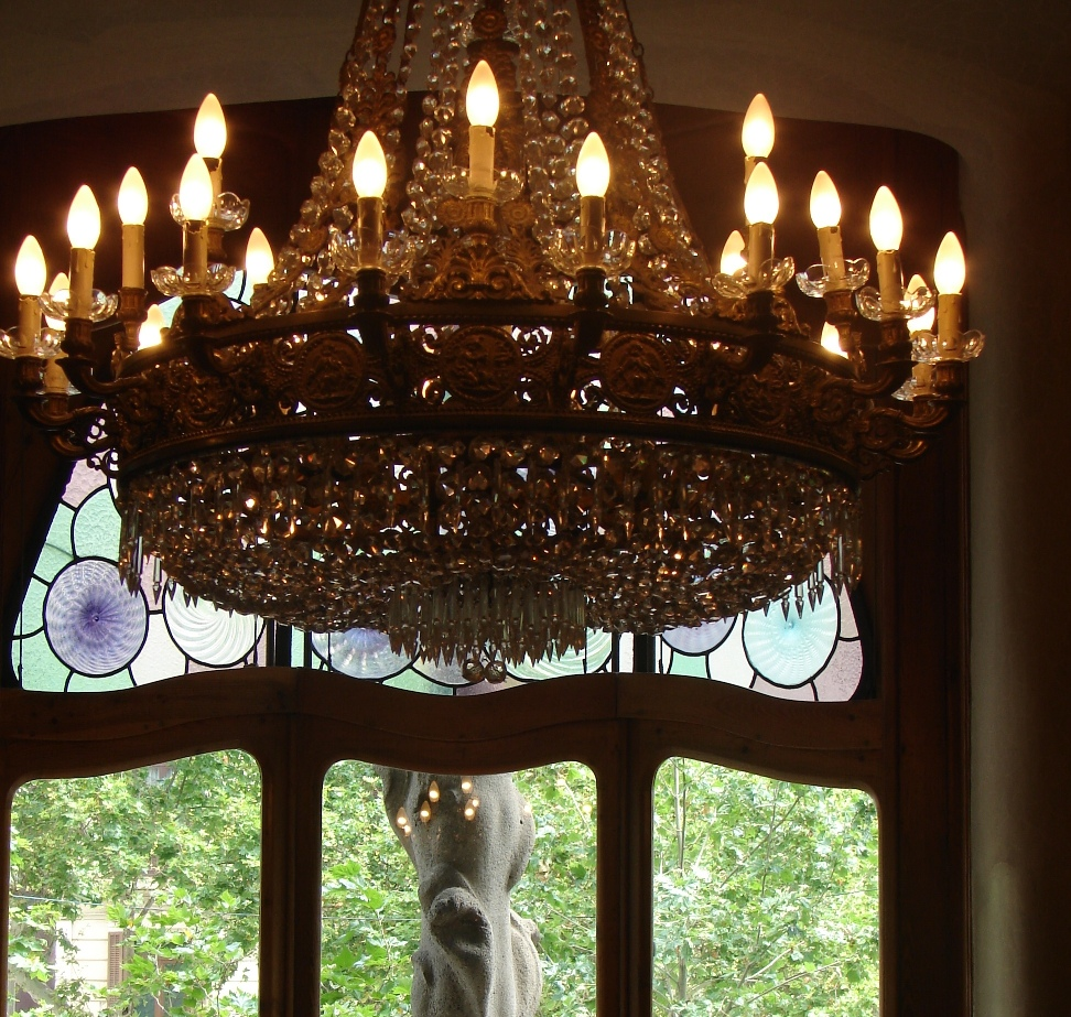 Casa Batlló - Light Fixture 3