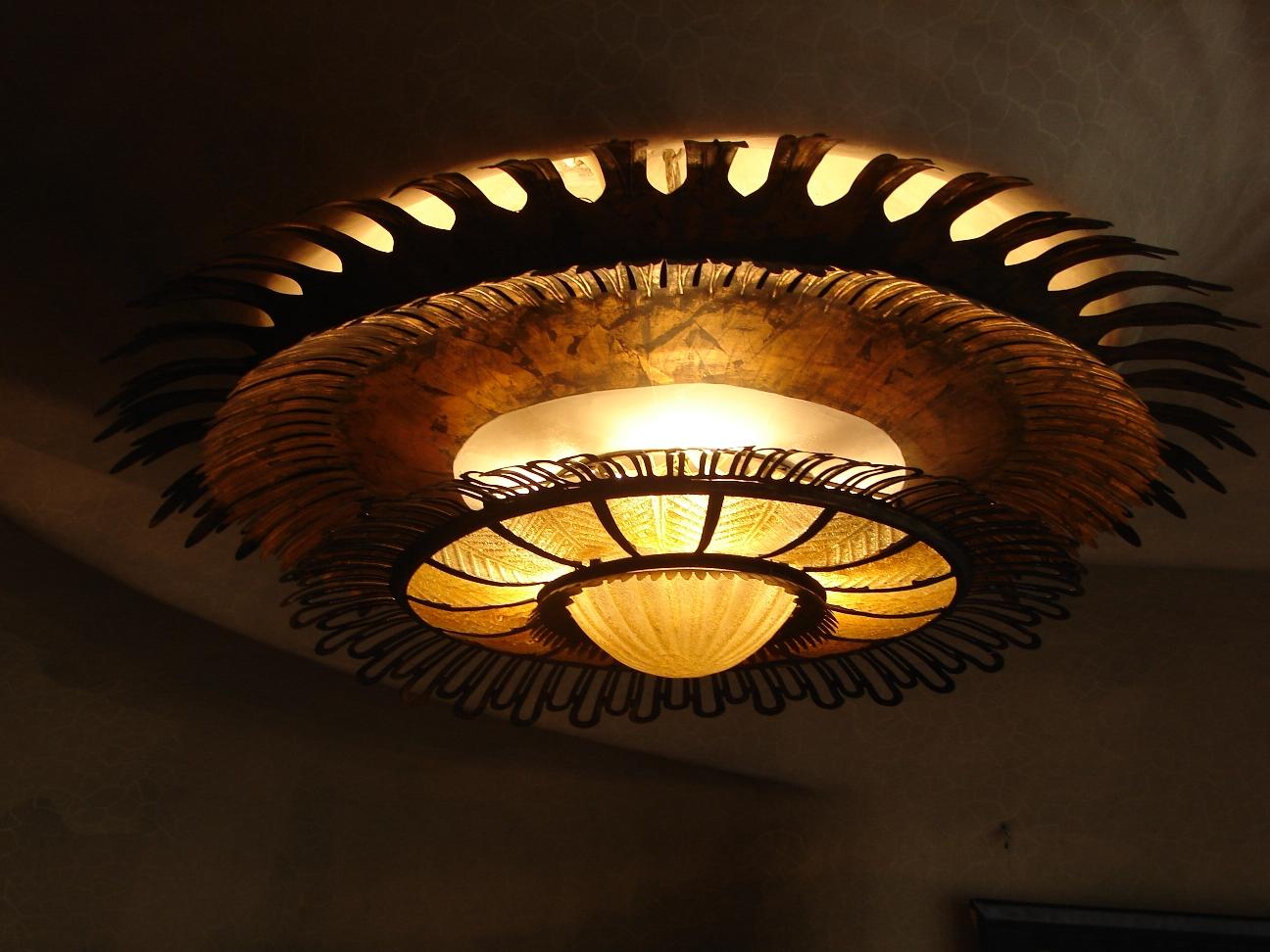Casa Batlló - Light Fixture 2