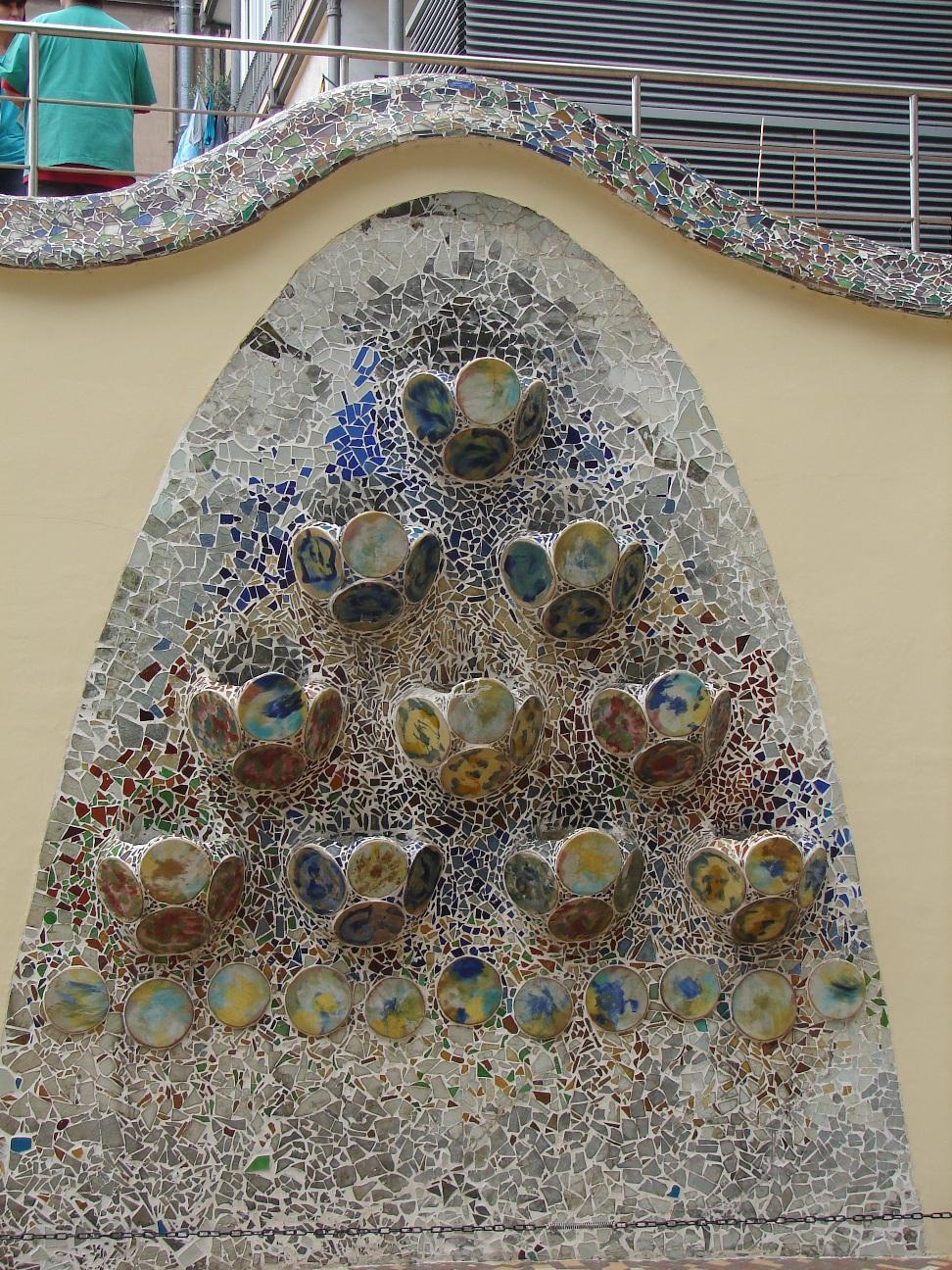 Casa Batlló - Mosaic