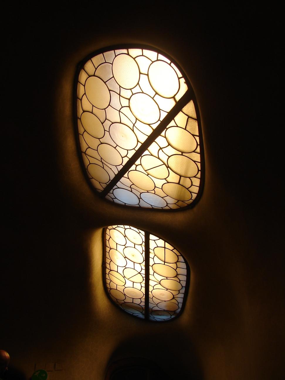 Casa Batlló - Stairwell Skylights