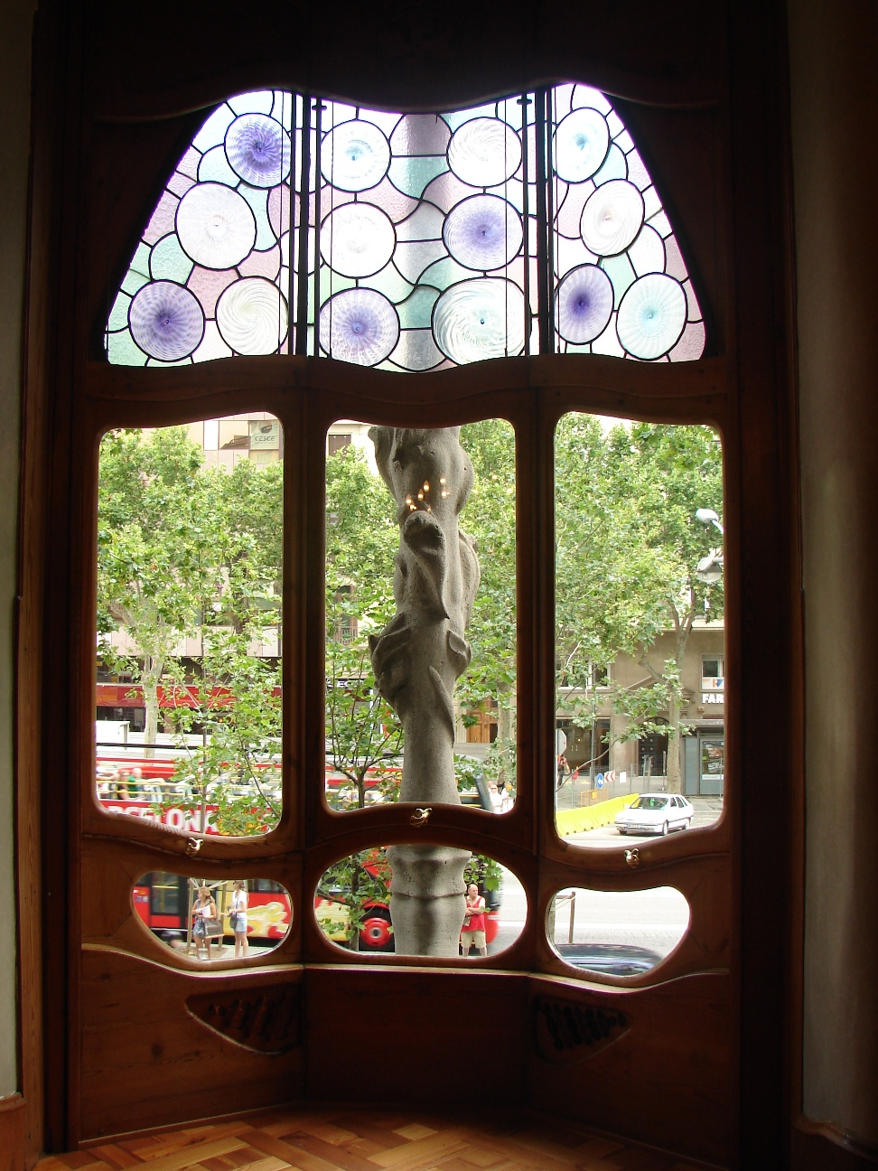 Casa Batlló - First Floor Window