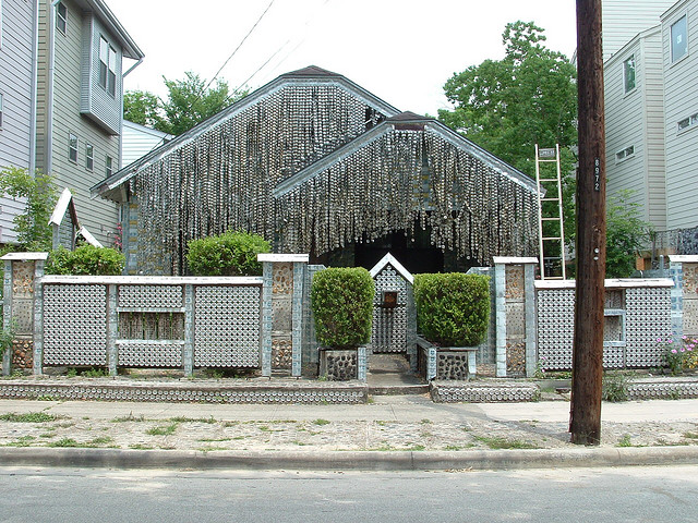The Beer Can House, Houston, TX, USA
