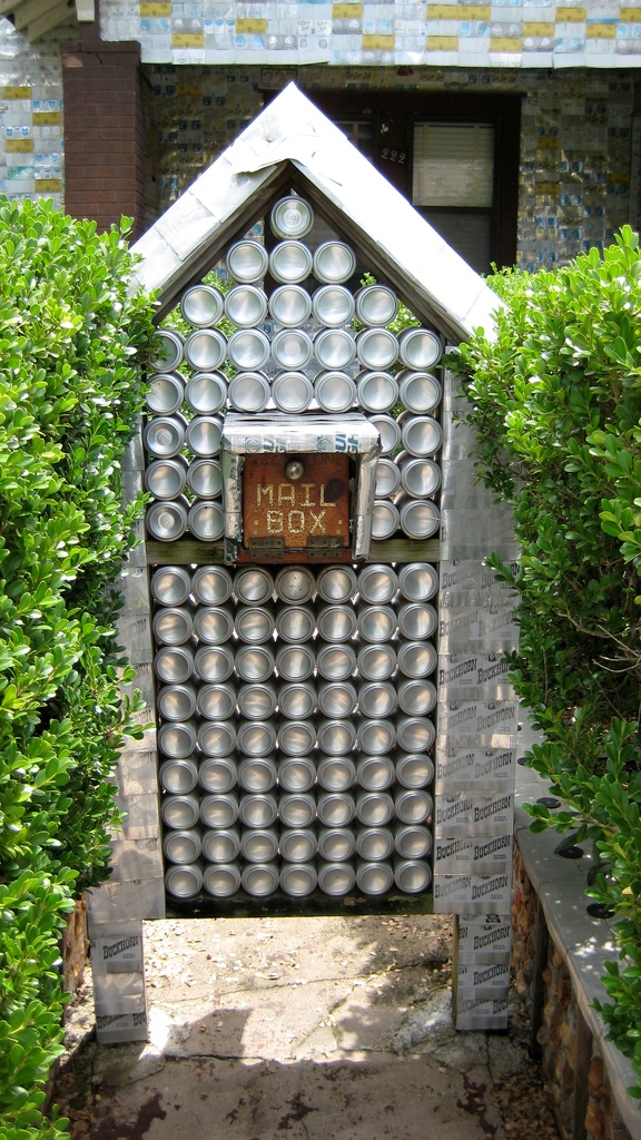 The Beer Can House 8