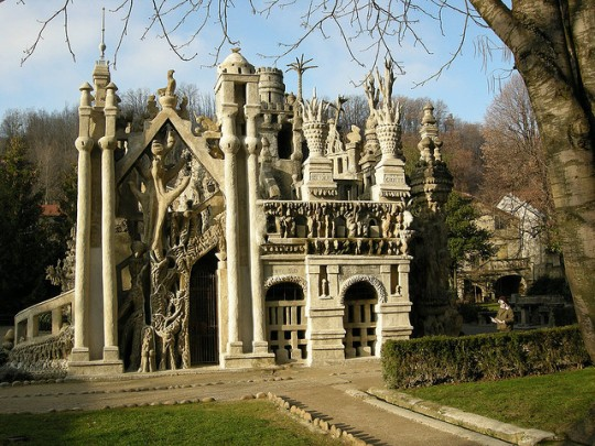 Ferdinand Chevals Le Palais Ideal, Hauterives, France