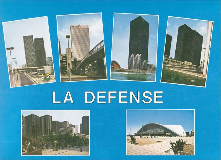 Futuro, La Defence - Wanted Postcard 1