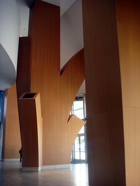 Walt Disney Concert Hall, Los Angeles, CA, USA - Interior 1