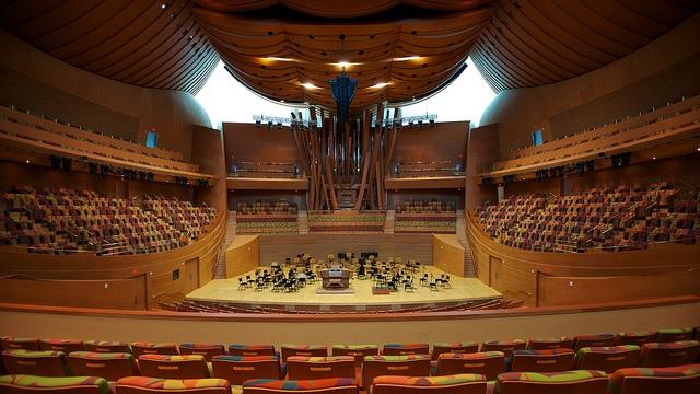 Walt Disney Concert Hall, Los Angeles, CA, USA - Interior 9
