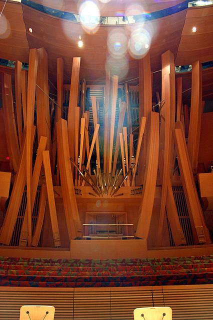 Walt Disney Concert Hall, Los Angeles, CA, USA - Interior 8