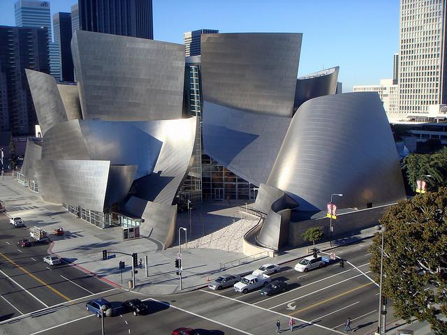 Walt Disney Concert Hall, Los Angeles, CA, USA
