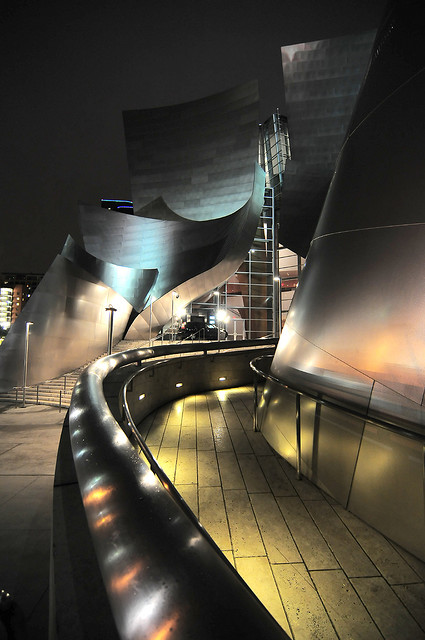 Walt Disney Concert Hall, Los Angeles, CA, USA - Night 3