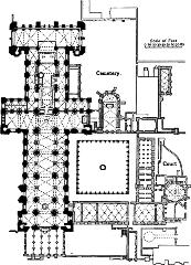 Durham Cathedral Floorplan