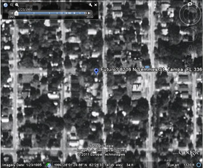 Ex Futuro - Semmes Street, Tampa, Florida - Google Earth