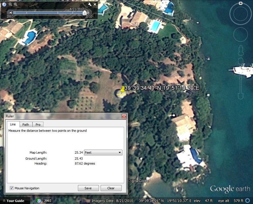 Futuro, Limni, Greece - Google Earth Screen Capture 101213