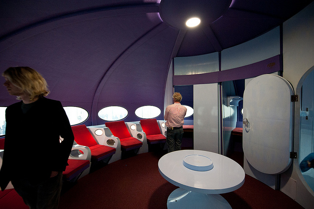 Futuro Prototype - Restored & On Exhibit Interior 2