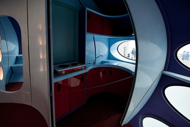 Futuro Prototype - Restored & On Exhibit Interior 4