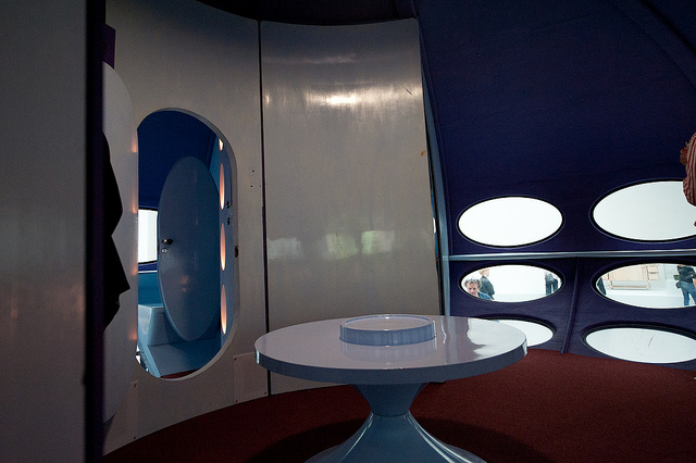 Futuro Prototype - Restored & On Exhibit Interior 7