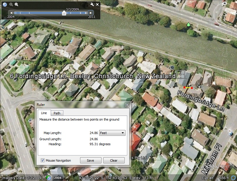 Futuro, Fordingbridge Lane, Christchurch, New Zealand - G/Earth No Longer On Site