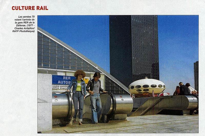 Futuro, la Defence, VG - Charles Ardaillon/RATP Phototheque