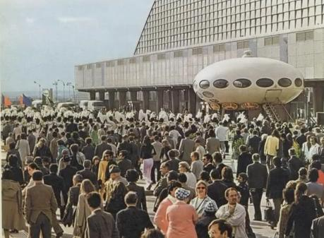 Futuro, Somewhere, France - 1968