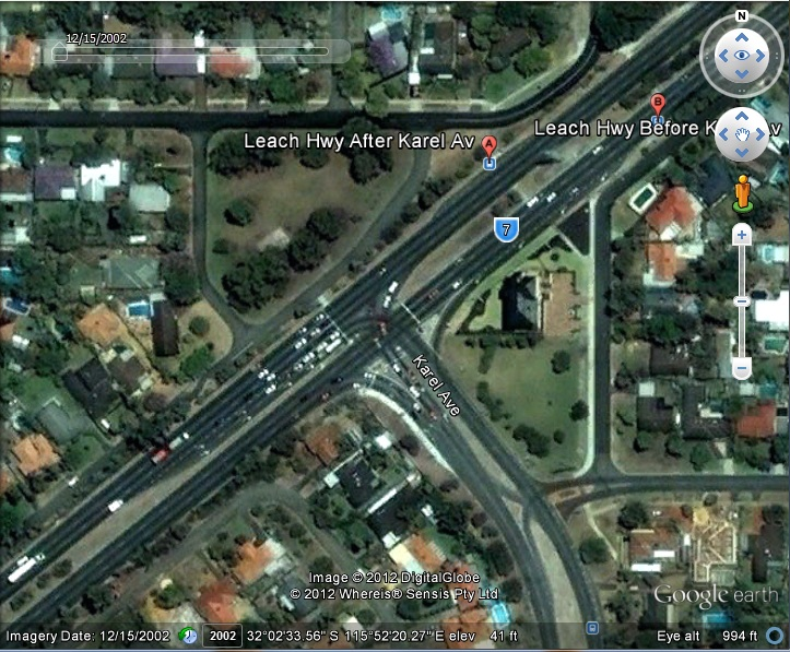 Leach Highway/Karel Avenue, Perth, Australia - Post Futuro Move