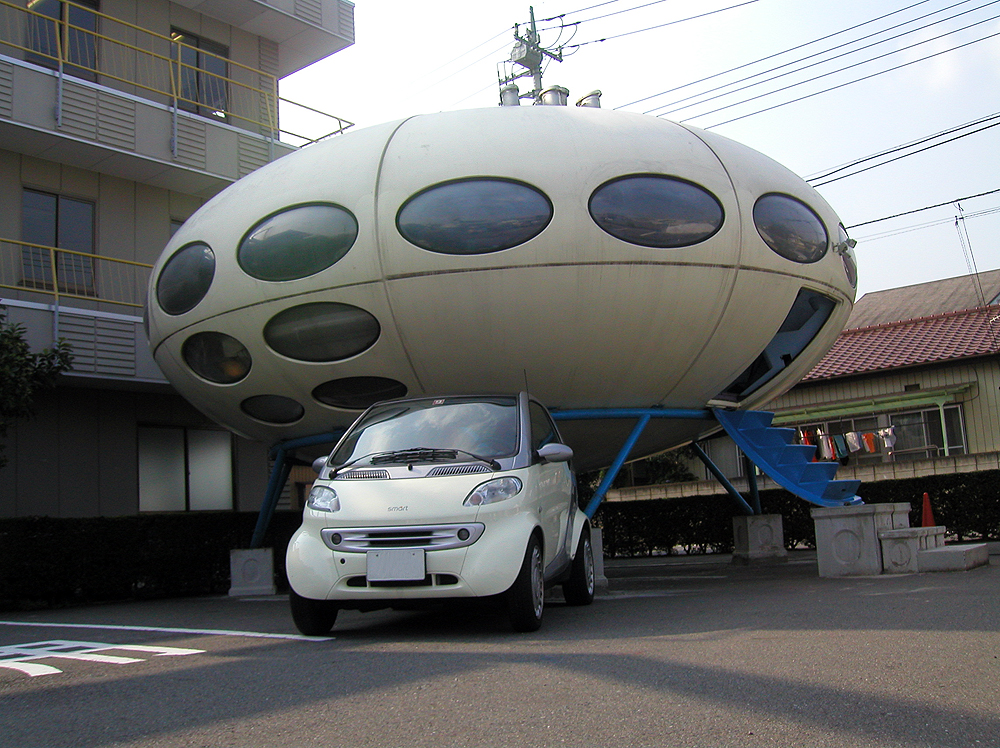 Futuro, Maebashi, Japan - Maniackers Design 4