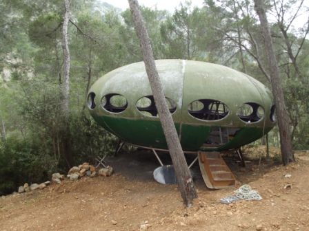 Futuro, Mallorca, Spain - Disassembly 1