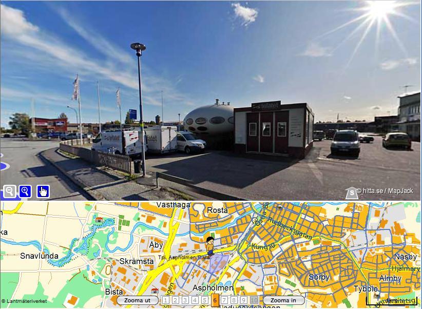 Futuro, Orebro, Sweden - Hitte.se Street View