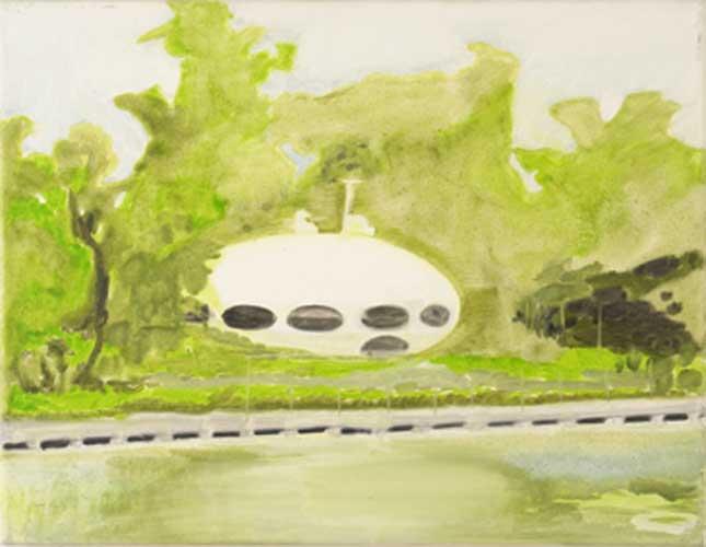 Futuro Painting - Katrin Plavcak