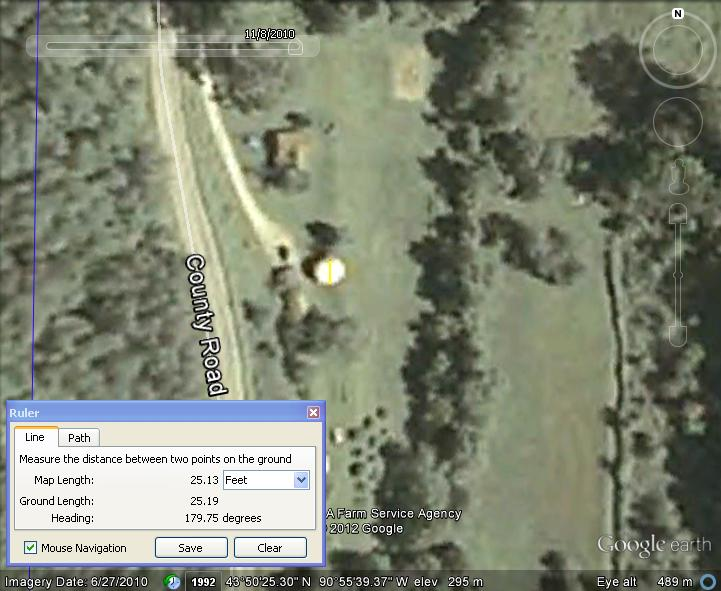 Futuro, Rockland, Wisconsin, USA - Google Earth Imagery 062710