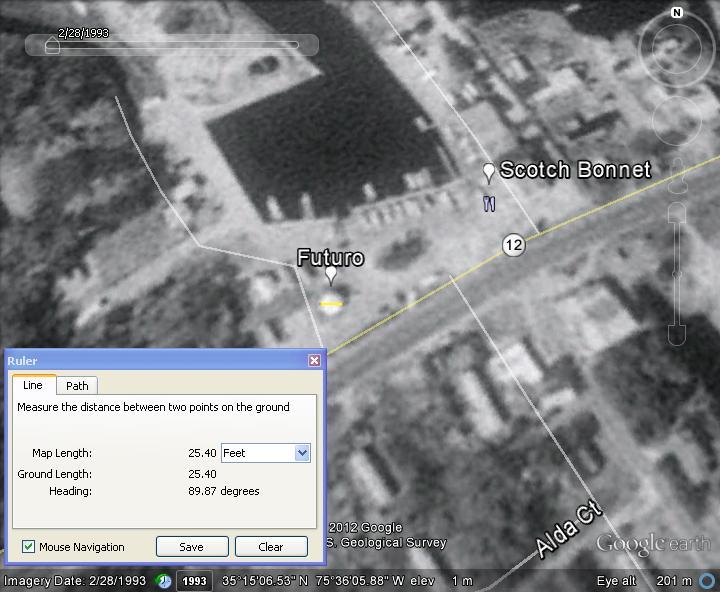 Futuro, Scotch Bonnet - 022893 Google Earth