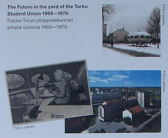Futuro, Turku Student Union, Finland 1969 - 1970