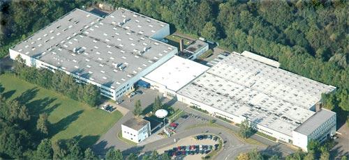 Futuro, Vlotho, Germany - Aerial