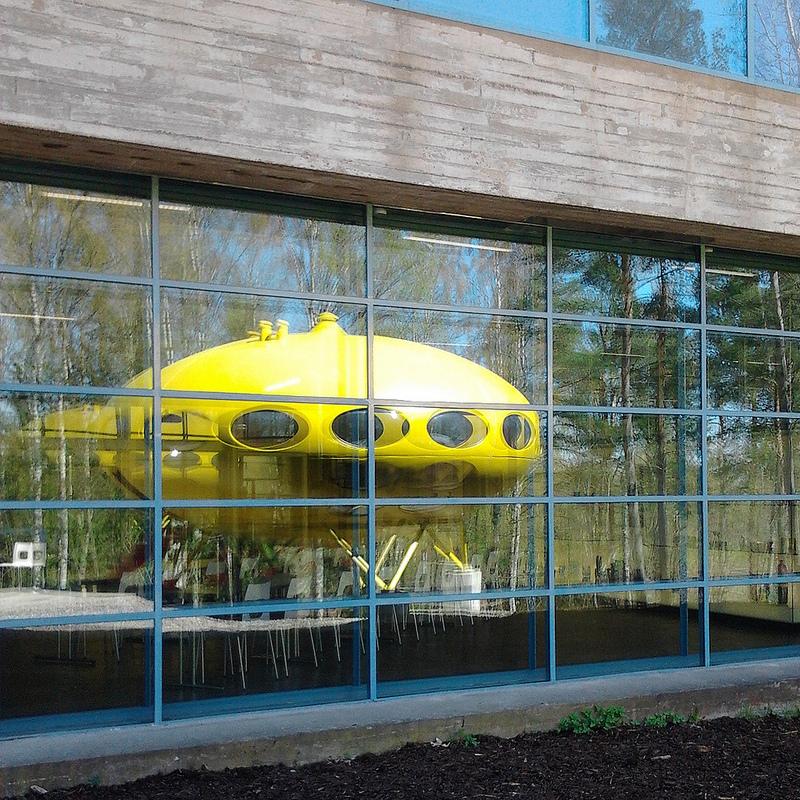 Futuro, Espoo, Finland - Reflections 2
