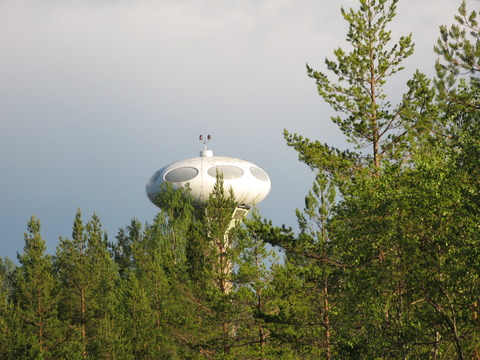 Swedish Air Force Futuro - South Tower 1