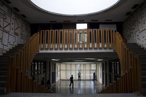 National & University Library, Prishtina, Kosovo - Interior