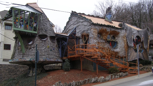 The Mushroom House, Cincinnati, OH, USA