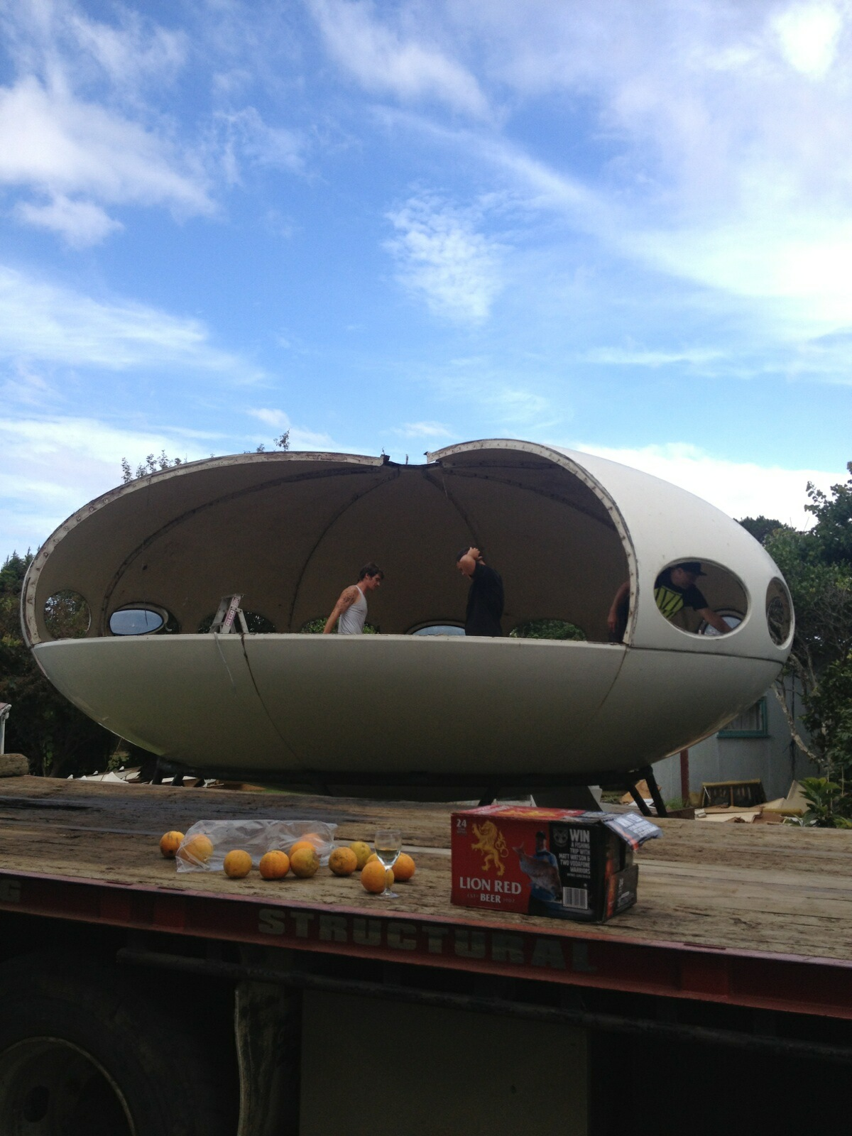 Rangiora New Zealand  city photos gallery : The Futuro House Rangiora, New Zealand Information, Photographs ...
