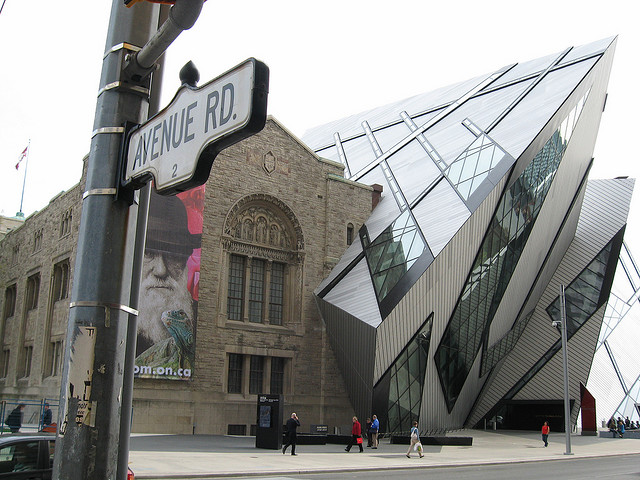 Royal Ontario Museum, Toronto, Canada - Old v New 2
