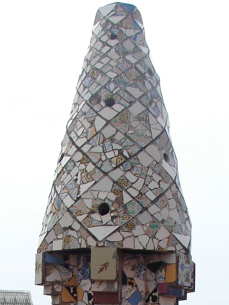 Palau Guell - Chimney Detail 11