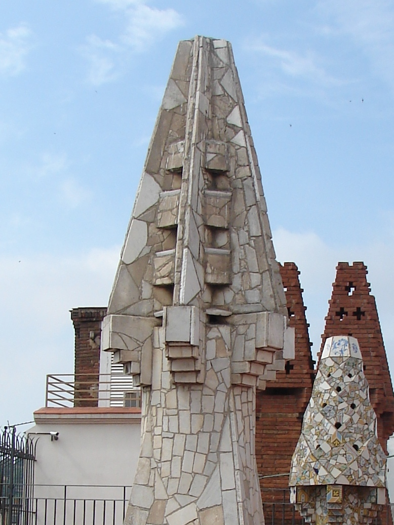 Palau Guell - Chimney Detail 12