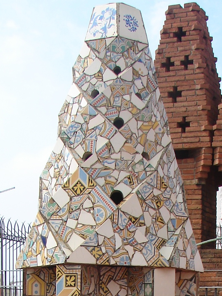 Palau Guell - Chimney Detail 13