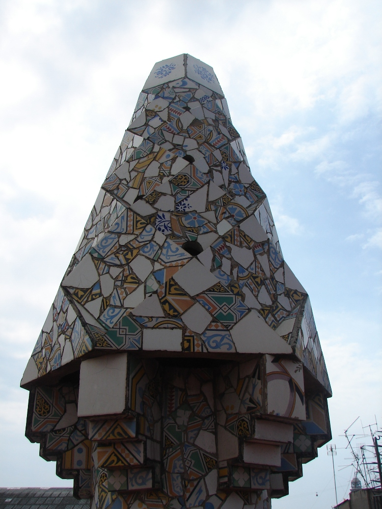 Palau Guell - Chimney Detail 14