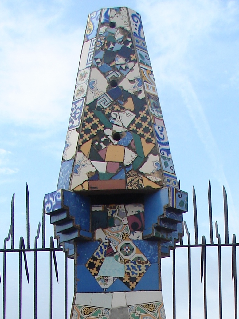Palau Guell - Chimney Detail 5